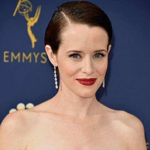 claire foy attends the 70th emmy awards